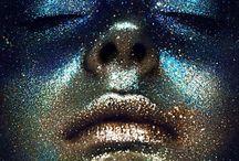 Shooting Glitter/ Galaxy