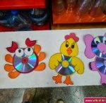 Cd animal craft for kids / this page has a lot of free cd animal crafts for kids