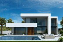 современные частные дома