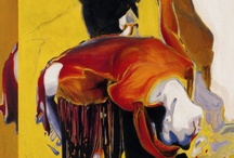 Dancers in the Paint / Paintings exploring the passion and movement of dance.