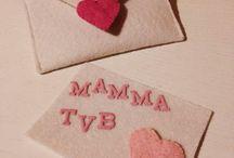 Creare buste di feltro e tenere parole / Creare buste di feltro e tenere parole