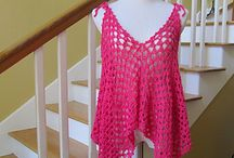 Crochet Shirts and Dresses