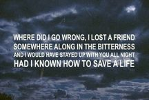 Amazing lyrics to amazing songs!(: / by Hannah Griffin