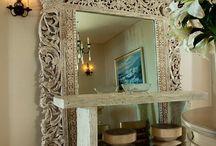 BoHo Chic decor / Balinese style home decor