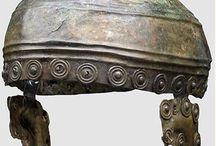 Ancient helmets Continental helmets / Celtic helmet - Central Europe helmet