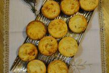 Queques e Muffins (salgados)