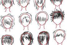 причёски для артов