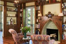 Fireplace inspirations for Family room / Shape and feel of the family room fireplace / by Mimi Moonbeam