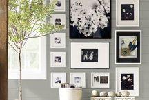 composizione di quadri a parete