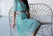 Vintage šaty