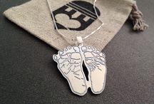 {{Hand & Footprints}} / We love hand and footprints!// http://jewelryudesign.com