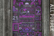 birthdays / by Becky Williamson
