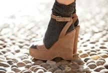 socks and heels = incredibly chic