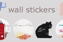 stickers, decals / A nice and easy way to decorate a room.