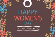 Woman's Day 8 March / Celebrating woman day