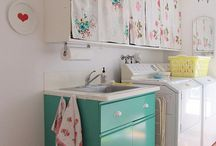 laundry room / by Rebekah Treece