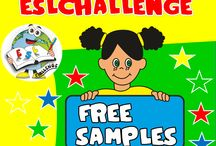 FREE SAMPLES / Send me a message to eslteachingresources@hotmail.com and I'll send you the samples resources. Take a look here: http://eslchallenge.weebly.com/free-samples.html