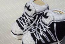 Haken baby schoentjes