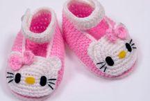 Virkaten ja neuloen lapsille / Lapsille virkattuja ja neulottuja vaatteita ja asusteita.