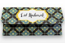 Eid Money Envelopes / Treat your friends and loved ones this Eid with Halal Celebrations latest Eid Money Envelope collection.