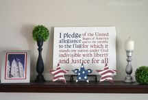 Red white and blue / Independence Day  / by Stephanie Alger