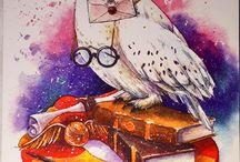 Harry Potter en fabel dieren only illustrated