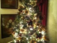 Camo Christmas decorations / by Juanita Davis Krise