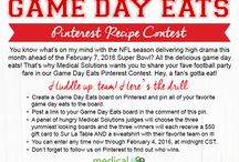 Game Day Eats / by Barbara Ryan