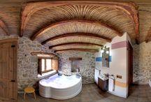 Casa Rural Dragons 2016 / Casa rural ecológica en castellon con 2 Habitaciones y suelo radiante en toda la casa.