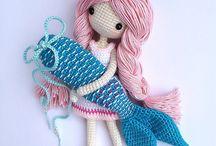 Crochet pattern angelina mermaid