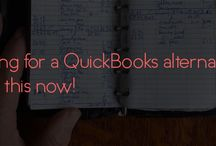 QuickBooks Alternative / I've been getting a lot of questions about where to find a good QuickBooks Alternative. Here's a response with my review of FreshBooks vs QuickBooks. Be sure to check it out and try out the free service.