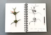 Cloth and Print sketchbook / Scribbles and inspirations from the Cloth and Print sketchbook