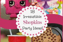 Shopkins / My Shopkins obsessed daughter wants a Shopkins party and I need creative ideas