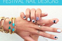 Music Festival Nails
