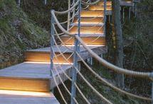 szikla lépcsők
