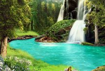 Waterfalls fantasy