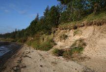 Schlei / Die schiffbare Schlei bietet dem Paddler als Fjord, also Meeresarm der Ostsee sehr viel landschaftliche Abwechslung. Ihre Breite wechselt ständig, es gibt einige kleine Städte und Fischerdörfer. Vom flachen Ufer bis zur Steilküste finden wir alle Naturschönheiten Schleswig-Holsteins vor und eine reichhaltige Tier- und Pflanzenwelt. Durch das Naturschutzgebiet Schleimünde ist die Schlei mit der Ostsee verbunden.