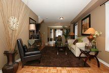 Living Room Ideas / by Mandy Cayton