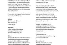 Design - Resume