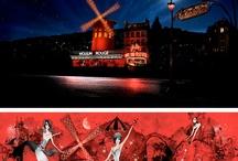 Boda de cine: Moulin Rouge / Una boda creada a partir de una película, la preferida de los novios. Donde los colores rojo y negro junto con las plumas y las chisteras, hicieron de esta boda una boda DE CINE