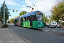 Halberstädter Verkehrs-GmbH - Bahnen / Sie sehen hier eine Auswahl meiner Fotos, mehr davon finden Sie auf meiner Internetseite www.europa-fotografiert.de.