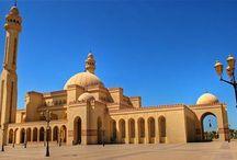 Asia - Bahrajn /  Manama; Qatar - Katar / Doha / Bahrajn - Królestwo Bahrajnu, arabska monarchia w Azji, w Zatoce Perskiej, na archipelagu między Katarem a płn-wsch. wybrzeżem Arabii Saudyjskiej. Niepodległość od 1971 r.  Katar - Qaţar wsch. Półwyspu Arabskiego, nad Zatoką Perską. Graniczy z Arabią Saudyjską. Stolicą Kataru jest Doha , inne większe miasta: Ar-Rajjan, Musajid, Al-Wakra, Chaur, Duchan, Umm Bab.