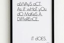 verschil maken