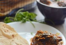 Curry eggplant