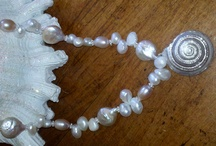 Seashell Necklaces / Handmade seashell necklaces from bellaPerlina Madison CT / by bellaperlina jewelry