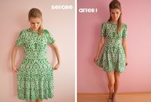 Refashion: Skirts and Dresses