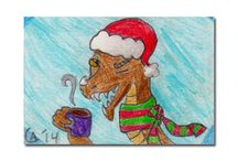 10 year old Anavi's art