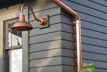Outdoor Copper Lighting