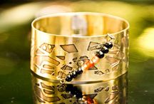 Unique Handmade Brass bracelets / Handmade jewelry - unique models every time