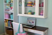 Craft room / Per allestire tavolo hobby
